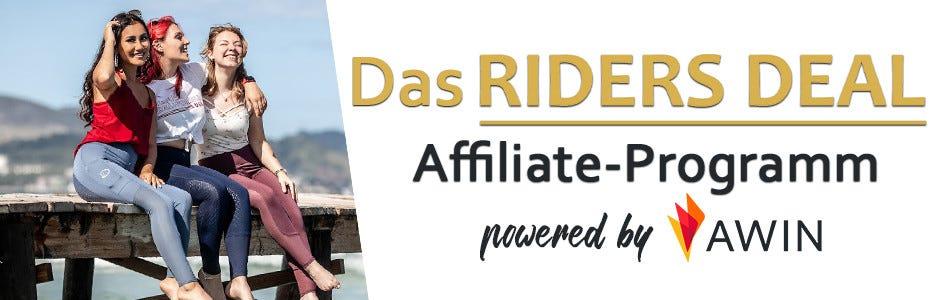 Jetzt Geld mit RidersDeal verdienen